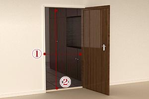 玄関のサイズ