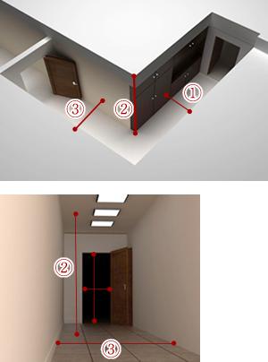 廊下のサイズ