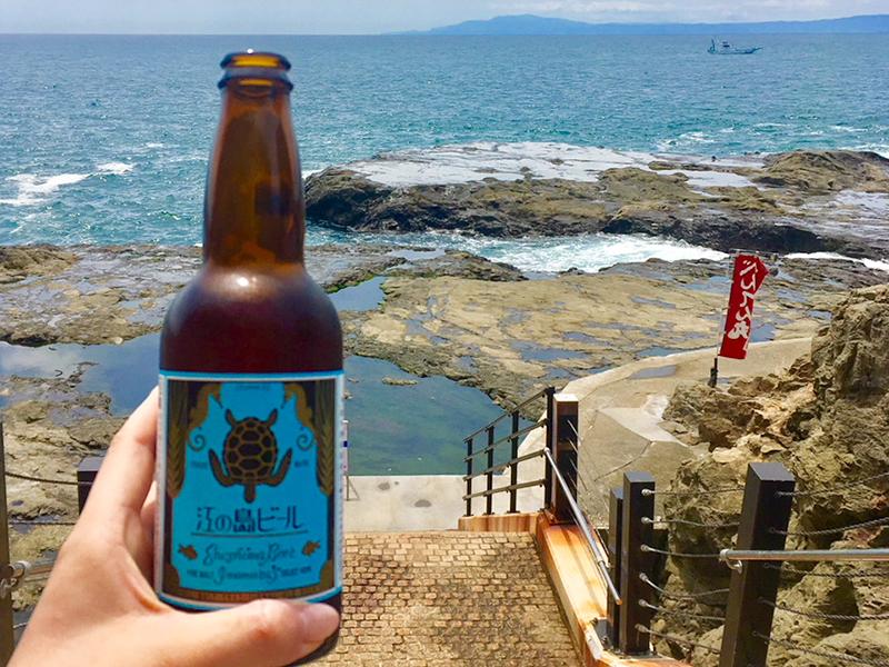 鮮やかな青い海と空!江の島散策♪